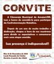 Convite Confraternização Natalina