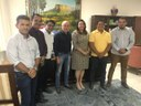 Vereadores em Reunião com Governadora e Ex-secretário do DNINT Buscam Melhorias Para Município